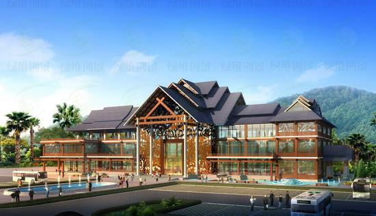 云南惠民旅游小镇游客中心设计