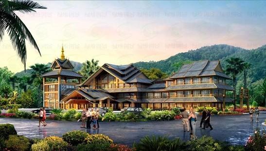 文化地标 旅游门户――景迈芒景惠民游客服务中心设计