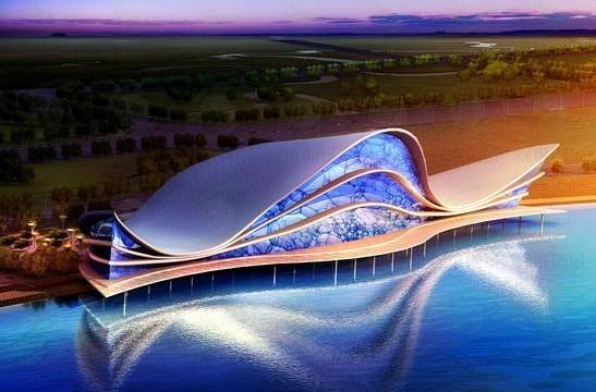 标志性文化建筑创意设计与剧院运营模式创新——江西南昌大剧院建筑设计