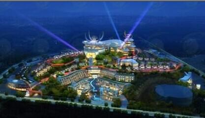苗头宴舞——贵州黄果树度假小镇策划规划建筑设计