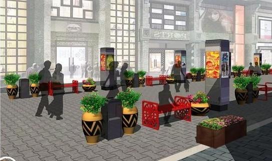 西宁商业巷总体策划和景观设计