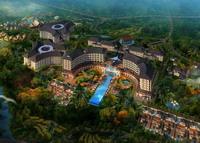 七仙瑶池热带雨林——温泉度假酒店设计