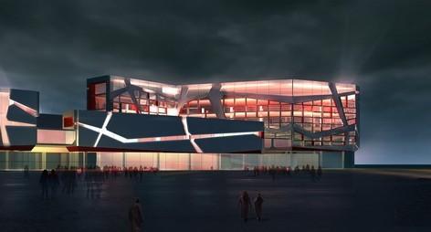 对话世界,风采国门——霍尔果斯口岸综合服务中心建设工程设计