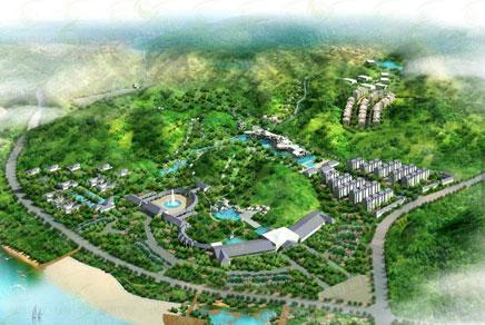 温泉休闲综合体——仙都黄帝温泉谷度假区