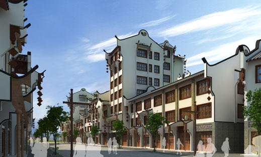旅游引导的特色小城镇发展建设规划—寨坝镇总体规划